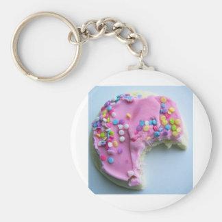 Sugar sprinkle cookie key chains