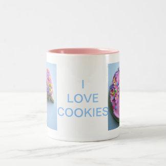 Sugar sprinkle cookie Two-Tone mug