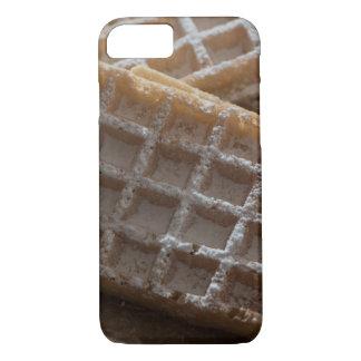 Sugar Sprinkled Brussels Waffles iPhone 7 Case