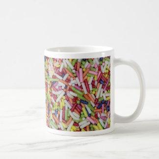 Sugar Sprinkles Basic White Mug