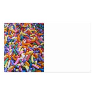 Sugar Sprinkles Business Card Template