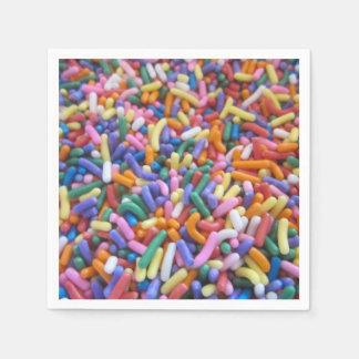 Sugar Sprinkles Disposable Serviette