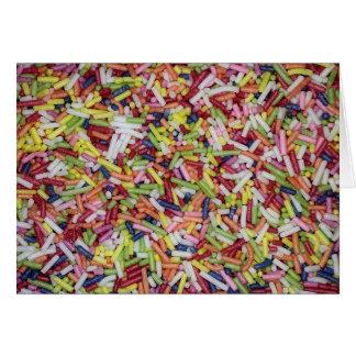 Sugar Sprinkles Greeting Card