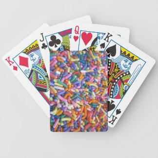 Sugar Sprinkles Poker Cards