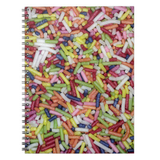 Sugar Sprinkles Spiral Notebooks