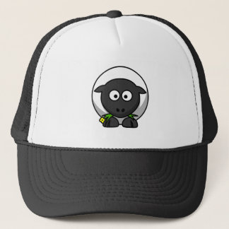 Sugar the Cute Cartoon Sheep Trucker Hat