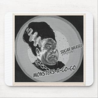 Sugar Weasel presents Monsters-A-Go-Go Mouse Mat