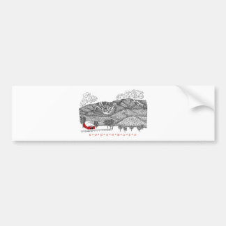 Sugarbush Vermont Bumper Sticker