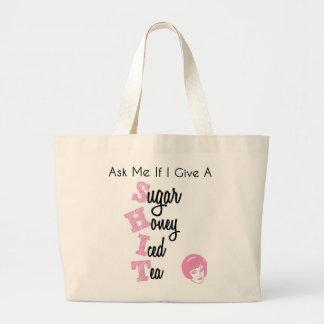 SugarHoneyIcedTea Tote Canvas Bags