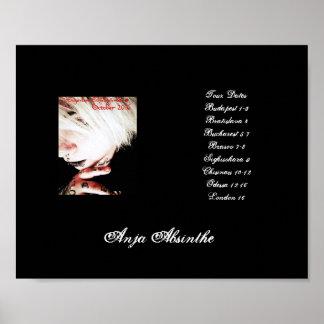 Sugarless Schadenfreude Tour Poster (Anja2)