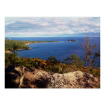 Sugarloaf Mountain In Autumn Poster