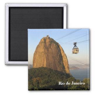 """""""Sugarloaf, Rio de Janeiro"""" magnet"""