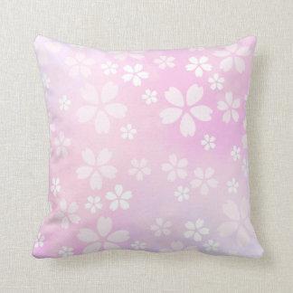 sugarparade Sakura Bloom Throw Pillow