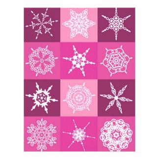 Sugarplum Snowflake Collection Designer Flyer Design