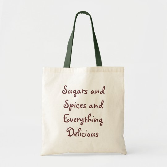 Sugars and Spices Shopping Bag