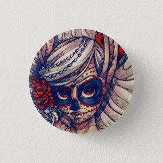 SugarSkull Bunny Pin