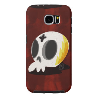 SugarSkull Cross Samsung Galaxy S6 Cases