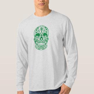 SugarSkull Green-01.png T-Shirt