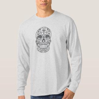 SugarSkull Grey-01.png T-Shirt