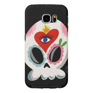 SugarSkull Third Eye Samsung Galaxy S6 Cases
