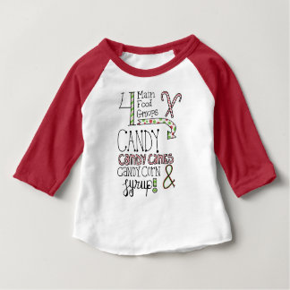 Sugary Food Groups Baby T-Shirt