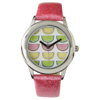 Sugary Fruit Slice Lemon Lime Candy Candies Watch