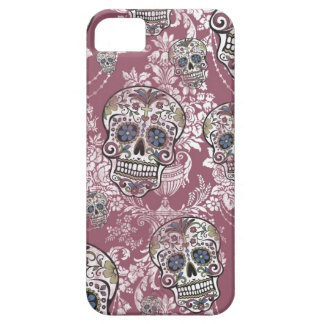 Sugary Sweet Mellow Sugar Skull. Case For The iPhone 5
