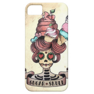 Sugary Sweet skull iPhone 5 Cases