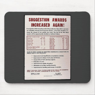 Suggestion Awards Increased Again Mousepads