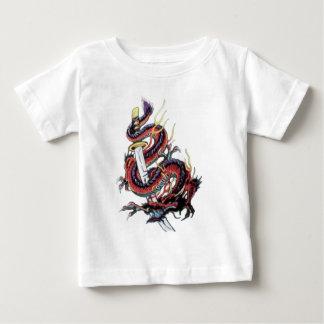 Sui Riu Japanese Dragon Katana Baby T-Shirt