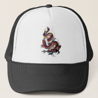 Sui Riu Japanese Dragon Katana Trucker Hat