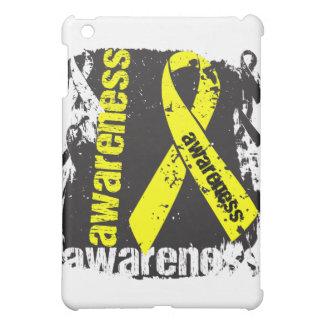 Suicide Awareness Grunge Ribbon iPad Mini Cases
