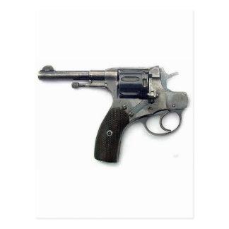Suicide gun postcard