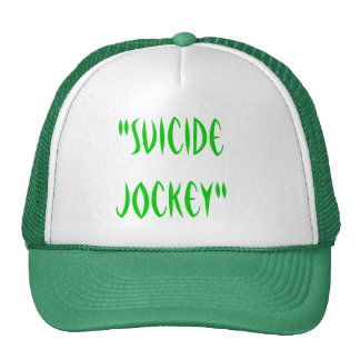 """Suicide Jockey"" Trucker Hats"