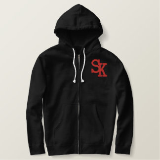 Suicide Kings Poker Club Zippered Hoodie