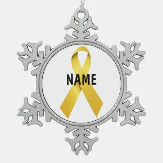 Suicide Memorial Tribute Ornament