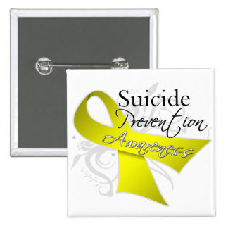 Suicide Prevention Awareness 15 Cm Square Badge