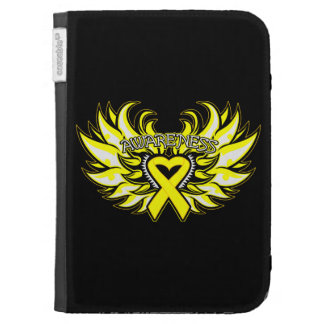 Suicide Prevention Awareness Heart Wings Cases For Kindle