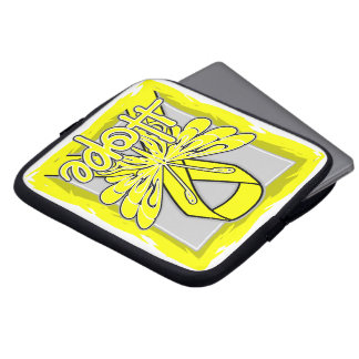 Suicide Prevention Awareness Hope Butterfly Laptop Computer Sleeves