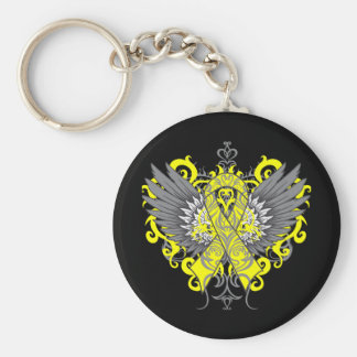 Suicide Prevention Awareness Wings Keychains