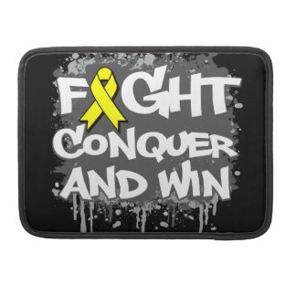 Suicide Prevention Fight Conquer and Win MacBook Pro Sleeves