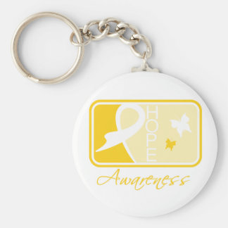 Suicide Prevention Hope Awareness Tile Keychains
