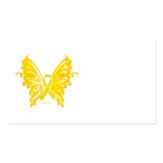 Suicide Prevention Ribbon Butterfly Pack Of Standard Business Cards