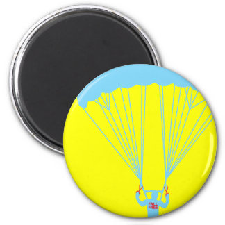 suicide skydive 6 cm round magnet