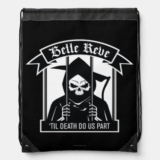 Suicide Squad   Belle Reve Reaper Graphic Drawstring Bag
