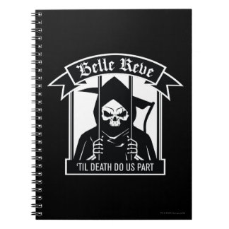 Suicide Squad | Belle Reve Reaper Graphic Spiral Notebook
