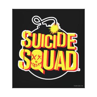 Suicide Squad   Bomb Logo Canvas Print