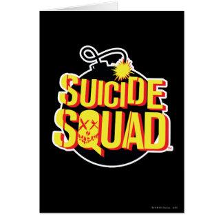 Suicide Squad | Bomb Logo Card