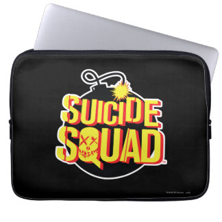 Suicide Squad | Bomb Logo Laptop Sleeve