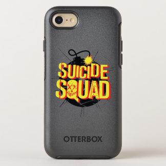 Suicide Squad | Bomb Logo OtterBox Symmetry iPhone 8/7 Case